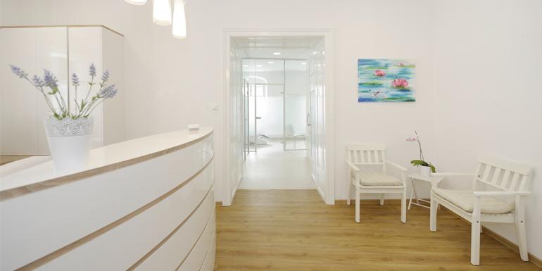 Galerie – Empfang Behandlung